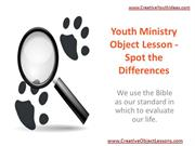 Youth Ministry Object Lesson - Spot the Differences