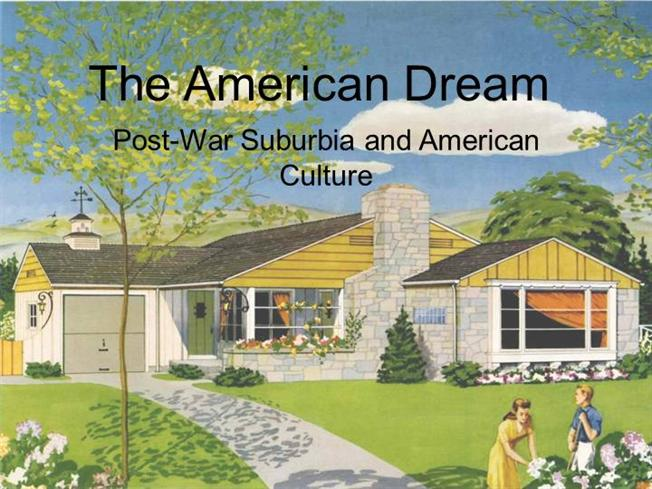 Image result for 1950s suburbia