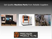 Get Quality Machine Parts from Reliable Suppliers