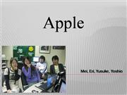 Apple presentation