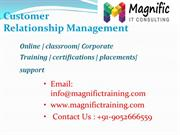 sap customer relationship management(crm)online training in india