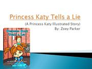 Princess Katy Tells a Lie