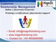 sap customer relationship management training