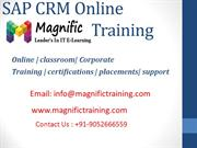 sap customer relationship management online training in canada