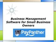 Business Management Software for Small Business Owners