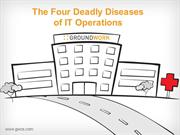How to overcome the 4 deadly diseases in an IT management software