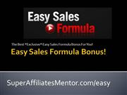EASY SALES FORMULA BONUS BY KEITH WELLMA