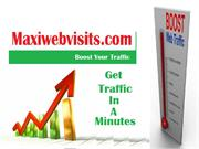 Buy Alexa Traffic at Maxi Web Visits