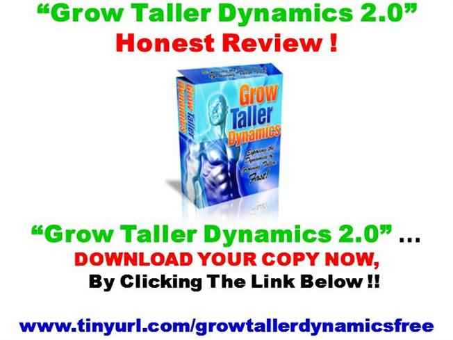 Beware Grow Taller Dynamics 2 0 By Philip Miller Review Authorstream