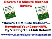 "Don't Buy ""Dave's 10 Minute Method"" Yet, HONEST REVIEW"
