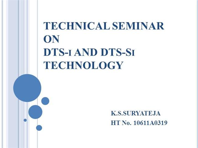 Dts I And Dts Si Engines Authorstream