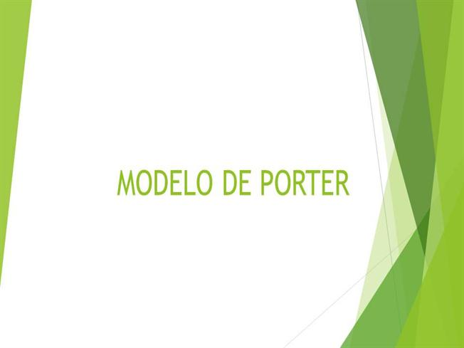 Modelo De Porter Authorstream