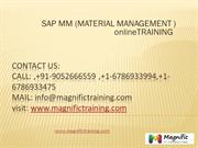 sap material management mm operations and configuration