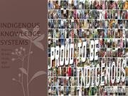 Indigenous Knowledge Systems (1)