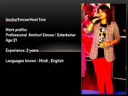 Best Female Anchor /Emcee in Chandigarh 8288980007