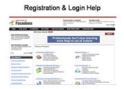 Registration & Login Help
