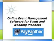 Online Event Management Software for Event and Wedding Planners