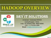 HADOOP ONLINE TRAINING | HADOOP COURSE DETAILS | SRY IT SOLUTIONS