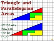 Triangles and Parallelograms - video