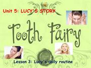 Unit 5. Lesson 3. Lucy's Daily Routine