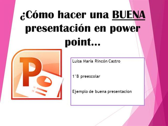 Ejemplo Buena Presentacion Power Point Authorstream