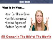 Quick Loans- Get Quick and Effective Loan Deals