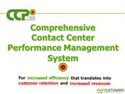 Employee Contact Center Performance Software