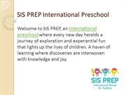 SIS PREP International Preschools in Mumbai