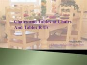 Chairs and Tables at Chairs-and-tables-r-us