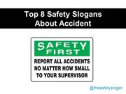 Top Safety Slogans for February