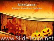 HALLOWEEN PUMPKIN FESTIVAL POWERPOINT BACKGROUND IMAGE