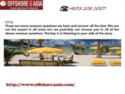 Offshore4asia is the best International Business Offshore Company