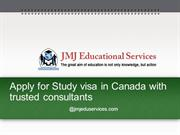 Apply for Study Visa in Canada with Trusted Consultants