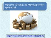 Welcome Packers and Movers Hyderabad