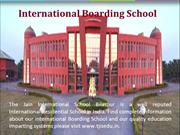International Residential School In India