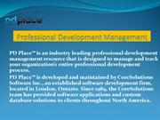 Professional Development Management