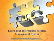 Learn Your Information Security Management System
