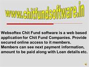 Chit fund, Chit Fund Software, Online Chit Fund