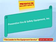 Preventive Fire & Safety Equipment, Inc.-Fire extinguishers in boca ra