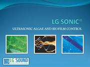 Utrasonic algae and biofilm control