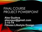 Final Course Project PowerPoint