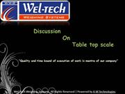 Table Top scale, Table top scale manufacturers, India
