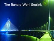 Bandra Worli Sealink