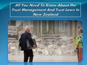 All You Need To Know About The Trust Management And Trust Laws In New