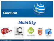 Constient global solution- Mobile application development