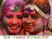 Holi Festival of Colors 2014