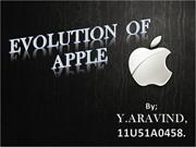 Evolution of Apple