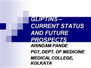 GLIPTINS – CURRENT STATUS AND FUTURE PRO
