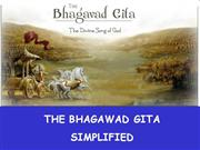 Gita simplified