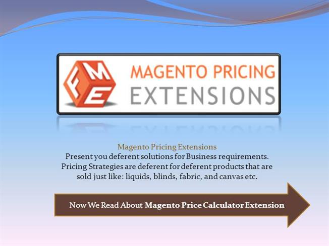 Magento Configurable Product Price Authorstream